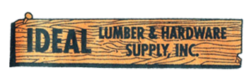 ideal lumber logo